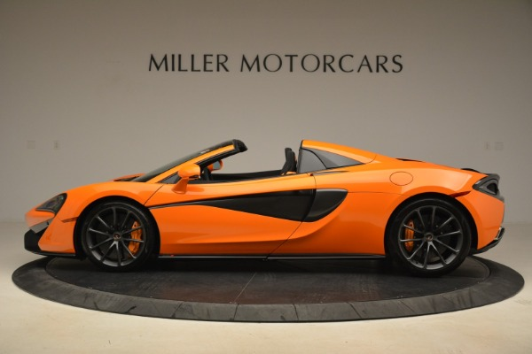 Used 2018 McLaren 570S Spider Convertible for sale Sold at Rolls-Royce Motor Cars Greenwich in Greenwich CT 06830 3