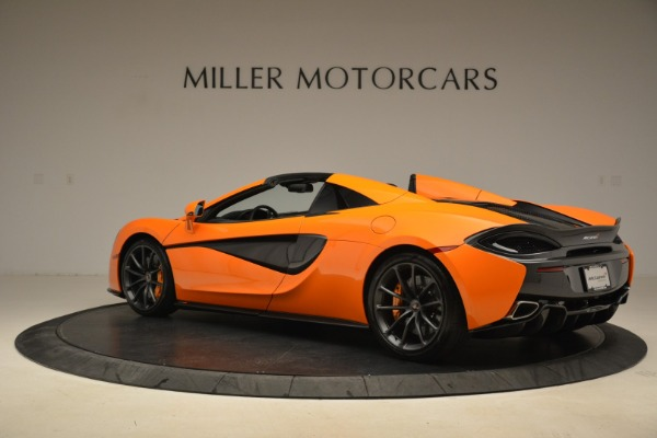 Used 2018 McLaren 570S Spider Convertible for sale Sold at Rolls-Royce Motor Cars Greenwich in Greenwich CT 06830 4