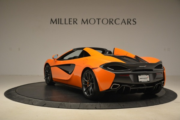 Used 2018 McLaren 570S Spider Convertible for sale Sold at Rolls-Royce Motor Cars Greenwich in Greenwich CT 06830 5