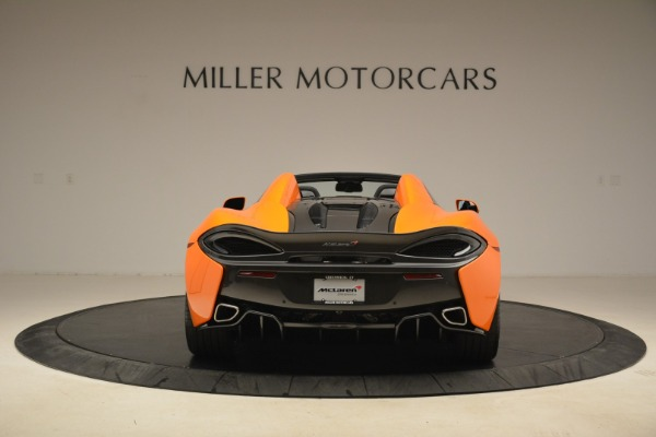 Used 2018 McLaren 570S Spider Convertible for sale Sold at Rolls-Royce Motor Cars Greenwich in Greenwich CT 06830 6