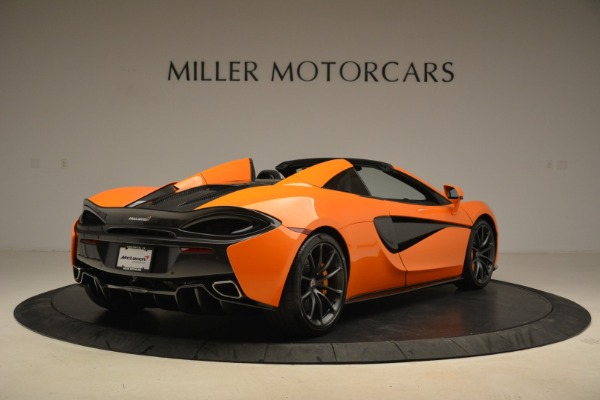 Used 2018 McLaren 570S Spider Convertible for sale Sold at Rolls-Royce Motor Cars Greenwich in Greenwich CT 06830 7