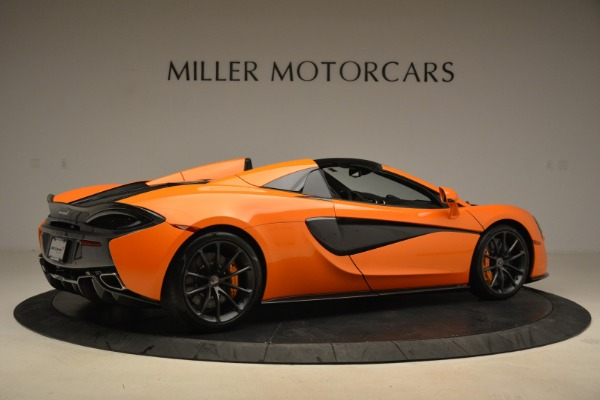 Used 2018 McLaren 570S Spider Convertible for sale Sold at Rolls-Royce Motor Cars Greenwich in Greenwich CT 06830 8