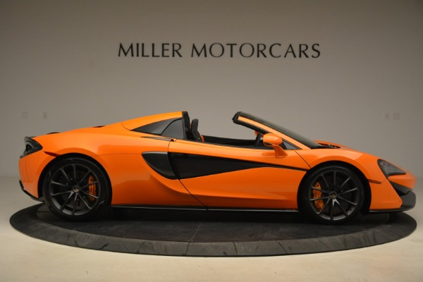 Used 2018 McLaren 570S Spider Convertible for sale Sold at Rolls-Royce Motor Cars Greenwich in Greenwich CT 06830 9