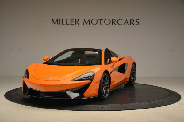 Used 2018 McLaren 570S Spider Convertible for sale Sold at Rolls-Royce Motor Cars Greenwich in Greenwich CT 06830 1