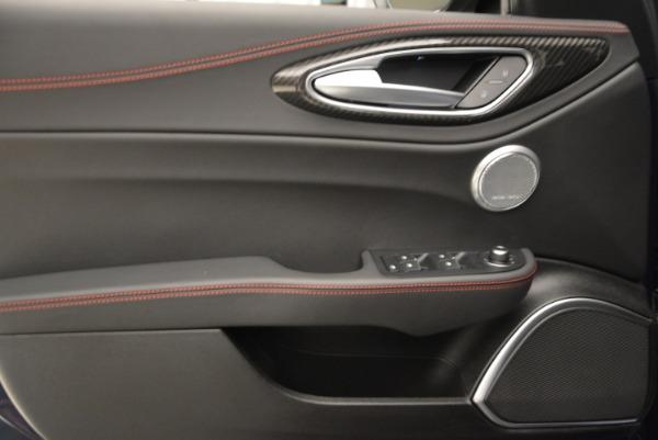 New 2018 Alfa Romeo Giulia Quadrifoglio for sale Sold at Rolls-Royce Motor Cars Greenwich in Greenwich CT 06830 24
