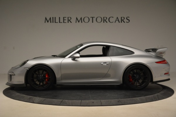 Used 2015 Porsche 911 GT3 for sale Sold at Rolls-Royce Motor Cars Greenwich in Greenwich CT 06830 3