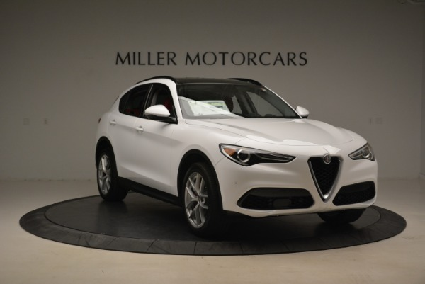 New 2018 Alfa Romeo Stelvio Ti Sport Q4 for sale Sold at Rolls-Royce Motor Cars Greenwich in Greenwich CT 06830 11