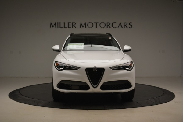 New 2018 Alfa Romeo Stelvio Ti Sport Q4 for sale Sold at Rolls-Royce Motor Cars Greenwich in Greenwich CT 06830 12