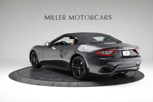 New 2018 Maserati GranTurismo Sport Convertible for sale Sold at Rolls-Royce Motor Cars Greenwich in Greenwich CT 06830 10