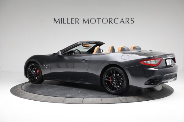 New 2018 Maserati GranTurismo Sport Convertible for sale Sold at Rolls-Royce Motor Cars Greenwich in Greenwich CT 06830 9