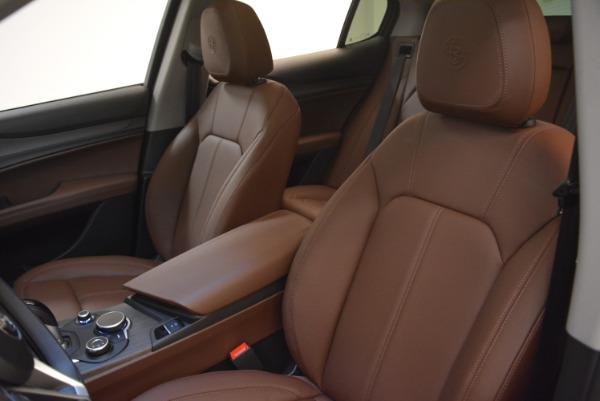 New 2018 Alfa Romeo Stelvio Ti Q4 for sale Sold at Rolls-Royce Motor Cars Greenwich in Greenwich CT 06830 15