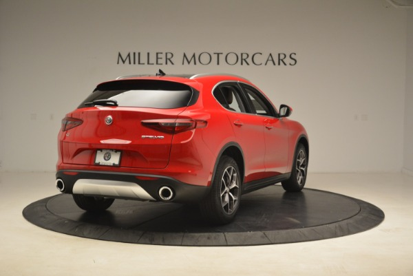 New 2018 Alfa Romeo Stelvio Ti Q4 for sale Sold at Rolls-Royce Motor Cars Greenwich in Greenwich CT 06830 7