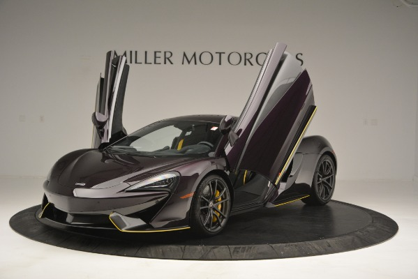 Used 2018 McLaren 570S for sale Sold at Rolls-Royce Motor Cars Greenwich in Greenwich CT 06830 14