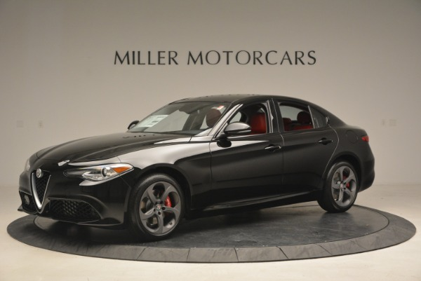 New 2018 Alfa Romeo Giulia Sport Q4 for sale Sold at Rolls-Royce Motor Cars Greenwich in Greenwich CT 06830 2