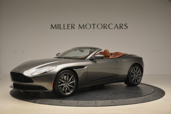 New 2019 Aston Martin DB11 Volante for sale Sold at Rolls-Royce Motor Cars Greenwich in Greenwich CT 06830 2
