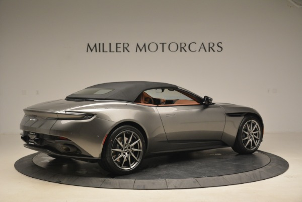 New 2019 Aston Martin DB11 Volante for sale Sold at Rolls-Royce Motor Cars Greenwich in Greenwich CT 06830 20
