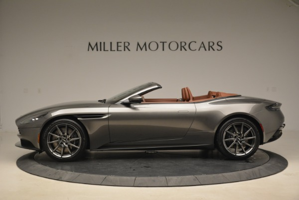 New 2019 Aston Martin DB11 Volante for sale Sold at Rolls-Royce Motor Cars Greenwich in Greenwich CT 06830 3