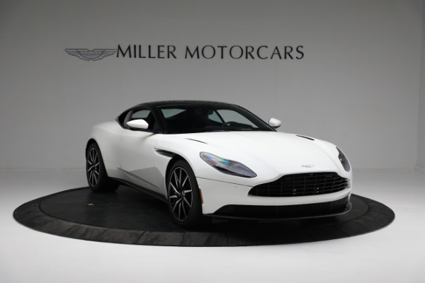 New 2018 Aston Martin DB11 V8 Coupe for sale Sold at Rolls-Royce Motor Cars Greenwich in Greenwich CT 06830 10