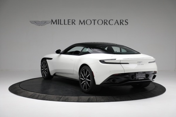 New 2018 Aston Martin DB11 V8 Coupe for sale Sold at Rolls-Royce Motor Cars Greenwich in Greenwich CT 06830 4