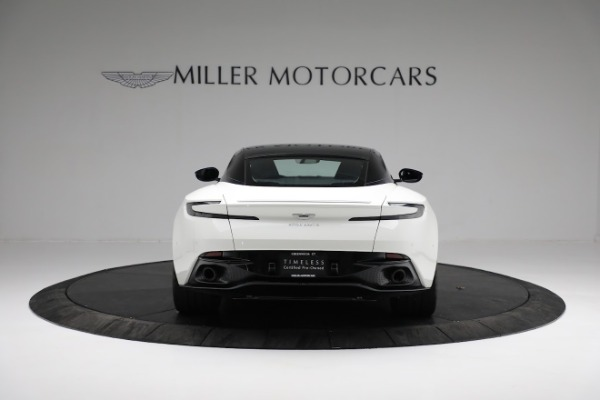 New 2018 Aston Martin DB11 V8 Coupe for sale Sold at Rolls-Royce Motor Cars Greenwich in Greenwich CT 06830 5