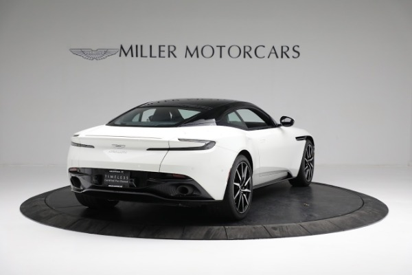 New 2018 Aston Martin DB11 V8 Coupe for sale Sold at Rolls-Royce Motor Cars Greenwich in Greenwich CT 06830 6