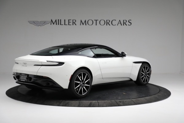 New 2018 Aston Martin DB11 V8 Coupe for sale Sold at Rolls-Royce Motor Cars Greenwich in Greenwich CT 06830 7