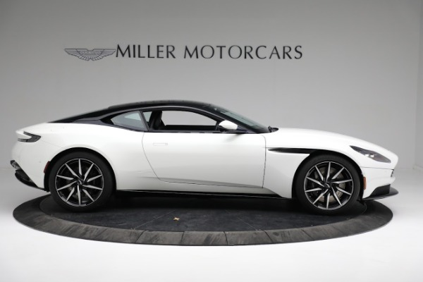 New 2018 Aston Martin DB11 V8 Coupe for sale Sold at Rolls-Royce Motor Cars Greenwich in Greenwich CT 06830 8