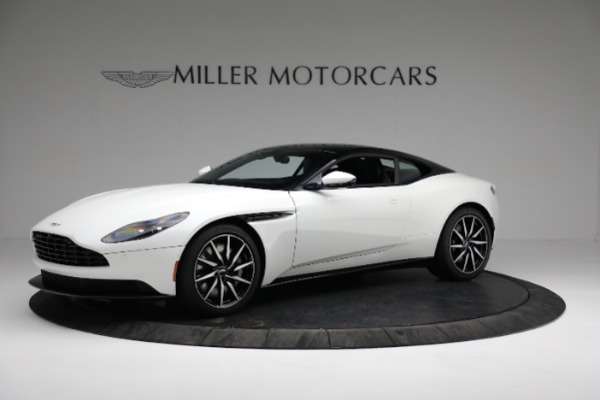 New 2018 Aston Martin DB11 V8 Coupe for sale Sold at Rolls-Royce Motor Cars Greenwich in Greenwich CT 06830 1
