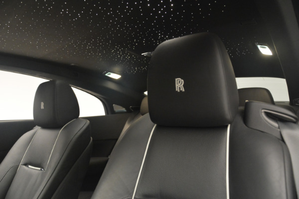 Used 2014 Rolls-Royce Wraith for sale Sold at Rolls-Royce Motor Cars Greenwich in Greenwich CT 06830 17