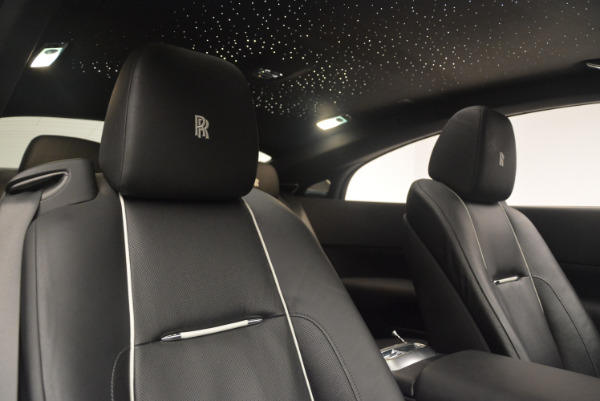 Used 2014 Rolls-Royce Wraith for sale Sold at Rolls-Royce Motor Cars Greenwich in Greenwich CT 06830 26