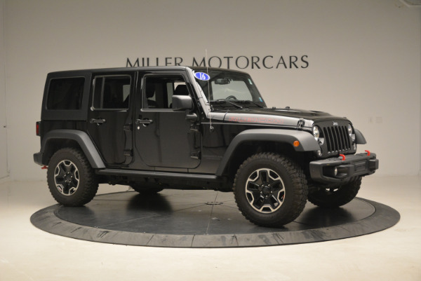 Used 2016 Jeep Wrangler Unlimited Rubicon for sale Sold at Rolls-Royce Motor Cars Greenwich in Greenwich CT 06830 10