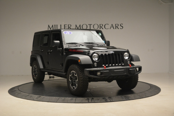 Used 2016 Jeep Wrangler Unlimited Rubicon for sale Sold at Rolls-Royce Motor Cars Greenwich in Greenwich CT 06830 11