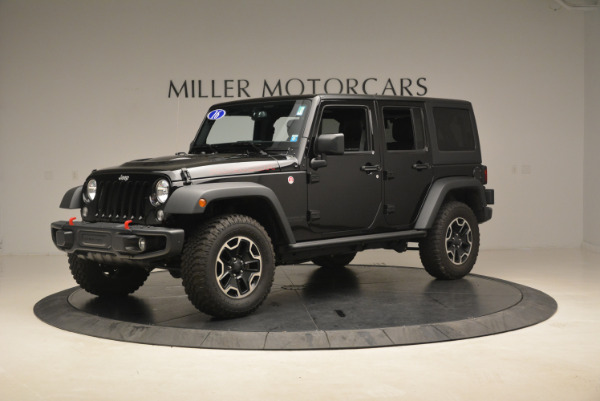 Used 2016 Jeep Wrangler Unlimited Rubicon for sale Sold at Rolls-Royce Motor Cars Greenwich in Greenwich CT 06830 2