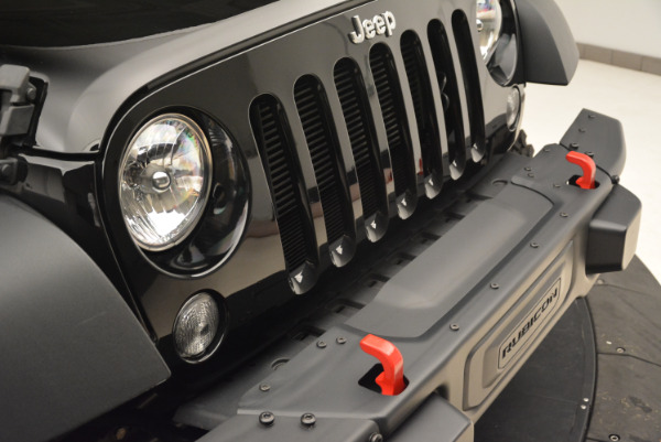 Used 2016 Jeep Wrangler Unlimited Rubicon for sale Sold at Rolls-Royce Motor Cars Greenwich in Greenwich CT 06830 23