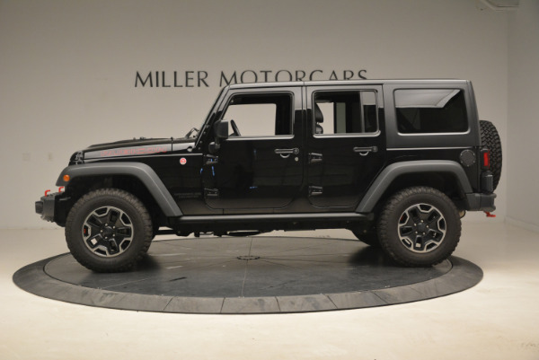 Used 2016 Jeep Wrangler Unlimited Rubicon for sale Sold at Rolls-Royce Motor Cars Greenwich in Greenwich CT 06830 3