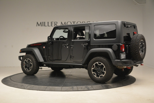 Used 2016 Jeep Wrangler Unlimited Rubicon for sale Sold at Rolls-Royce Motor Cars Greenwich in Greenwich CT 06830 4