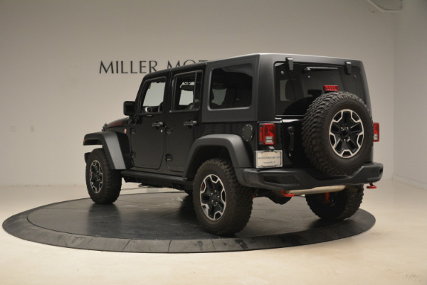 Used 2016 Jeep Wrangler Unlimited Rubicon for sale Sold at Rolls-Royce Motor Cars Greenwich in Greenwich CT 06830 5