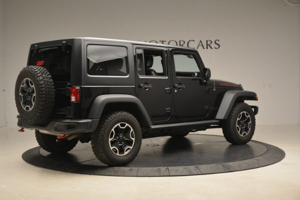 Used 2016 Jeep Wrangler Unlimited Rubicon for sale Sold at Rolls-Royce Motor Cars Greenwich in Greenwich CT 06830 8