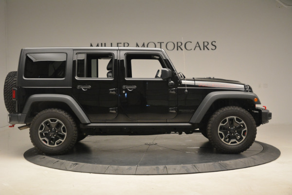 Used 2016 Jeep Wrangler Unlimited Rubicon for sale Sold at Rolls-Royce Motor Cars Greenwich in Greenwich CT 06830 9