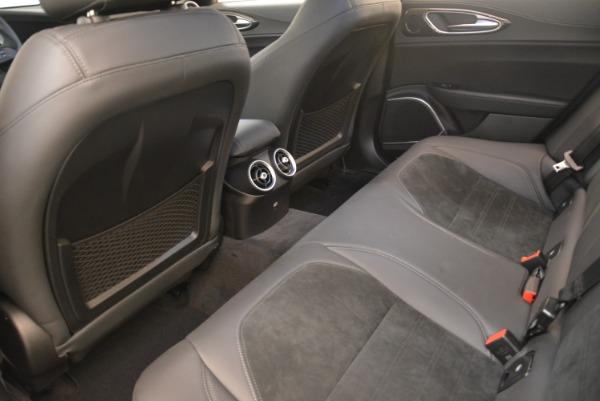 New 2018 Alfa Romeo Giulia Quadrifoglio for sale Sold at Rolls-Royce Motor Cars Greenwich in Greenwich CT 06830 17