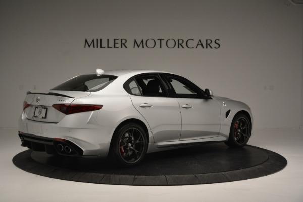 New 2018 Alfa Romeo Giulia Quadrifoglio for sale Sold at Rolls-Royce Motor Cars Greenwich in Greenwich CT 06830 8