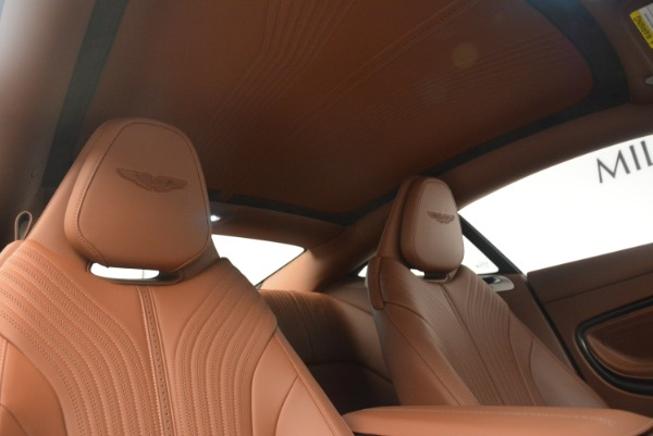 Used 2018 Aston Martin DB11 V12 for sale $164,990 at Rolls-Royce Motor Cars Greenwich in Greenwich CT 06830 19