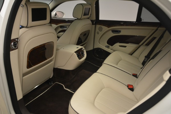 Used 2013 Bentley Mulsanne for sale Sold at Rolls-Royce Motor Cars Greenwich in Greenwich CT 06830 20