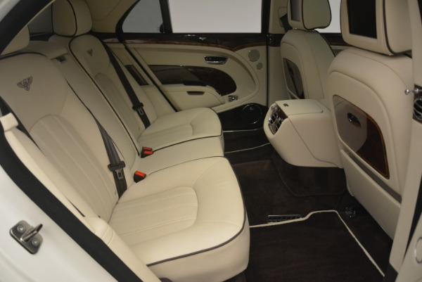 Used 2013 Bentley Mulsanne for sale Sold at Rolls-Royce Motor Cars Greenwich in Greenwich CT 06830 24