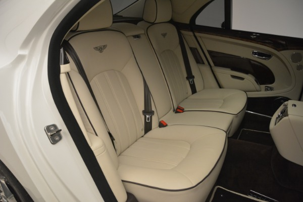 Used 2013 Bentley Mulsanne for sale Sold at Rolls-Royce Motor Cars Greenwich in Greenwich CT 06830 25