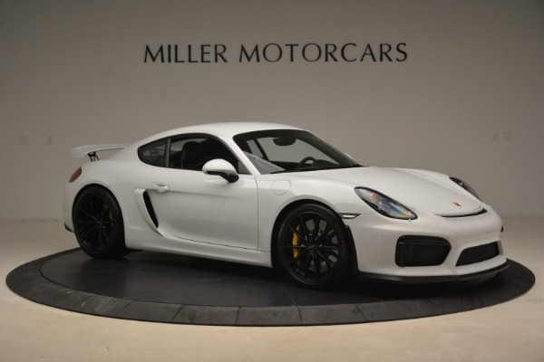Used 2016 Porsche Cayman GT4 for sale Sold at Rolls-Royce Motor Cars Greenwich in Greenwich CT 06830 10
