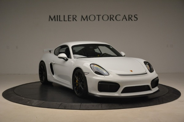 Used 2016 Porsche Cayman GT4 for sale Sold at Rolls-Royce Motor Cars Greenwich in Greenwich CT 06830 11
