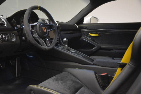 Used 2016 Porsche Cayman GT4 for sale Sold at Rolls-Royce Motor Cars Greenwich in Greenwich CT 06830 15