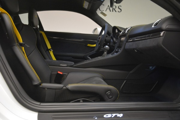 Used 2016 Porsche Cayman GT4 for sale Sold at Rolls-Royce Motor Cars Greenwich in Greenwich CT 06830 19