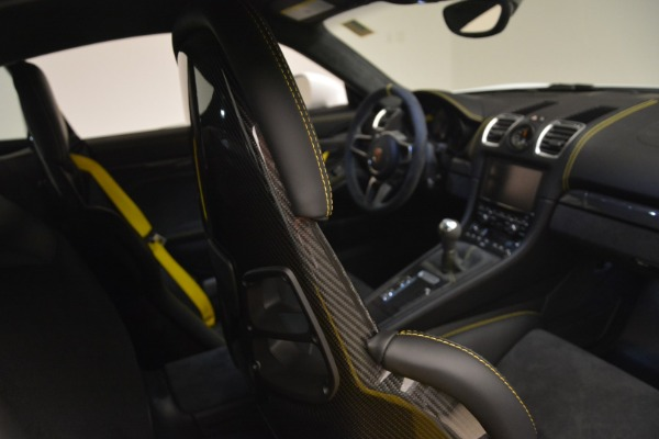 Used 2016 Porsche Cayman GT4 for sale Sold at Rolls-Royce Motor Cars Greenwich in Greenwich CT 06830 22